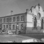 Šiaulių Didžiosios Choralinės sinagogos, vadintos Baltaja gulbe, griuvėsiai