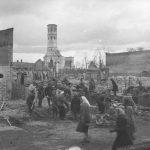 Antrojo pasaulinio karo metu sugriautų Šiaulių atstatymo darbai