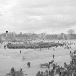 Pergalės prieš Vokietiją minėjimas, centrinėje Šiaulių aikštėje